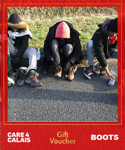 Boots voucher for refugees